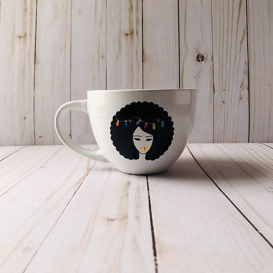 Hairy Christmas Mug