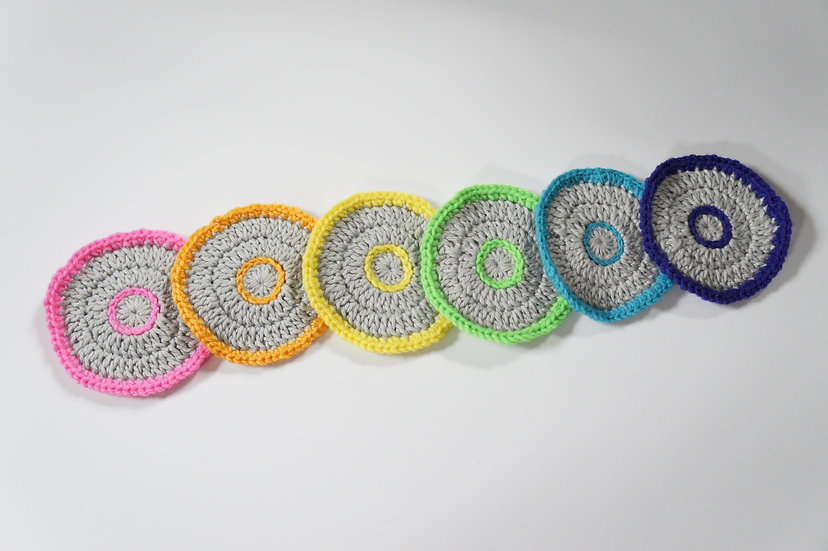 Happy Circles Coaster Set