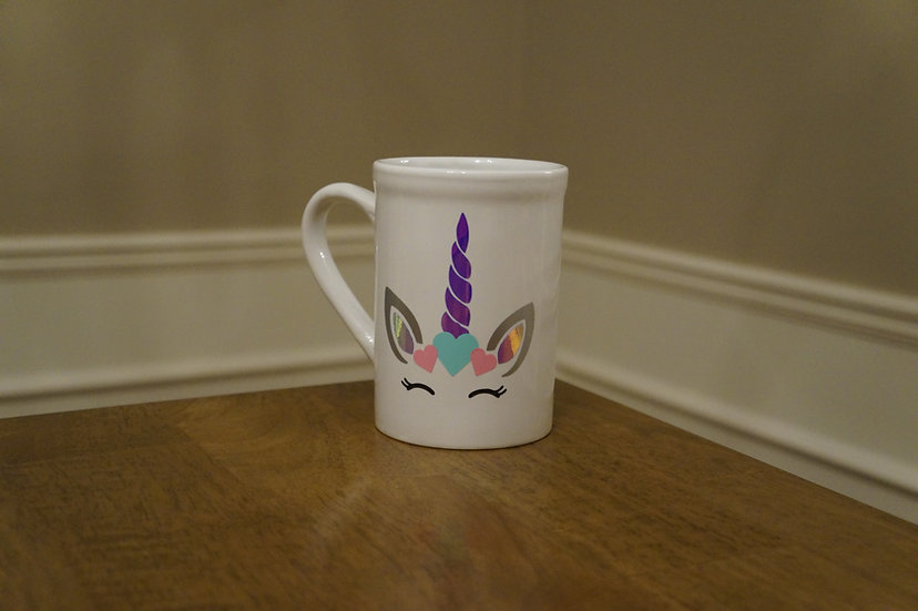 Unicorn Hearts Mug
