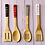 Thumbnail: Farmhouse Christmas Bamboo Utensils