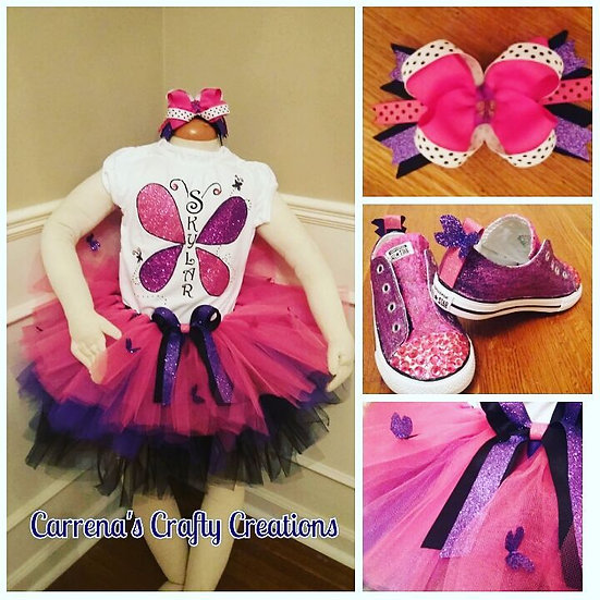 Girl Tutu Set- 5 to 10