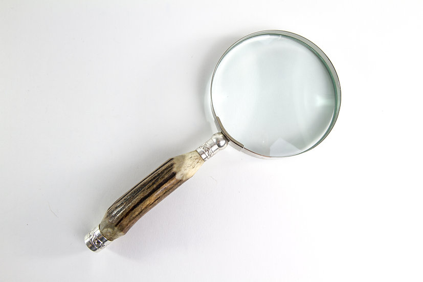 Stag Horn Magnifying Glass 9cm