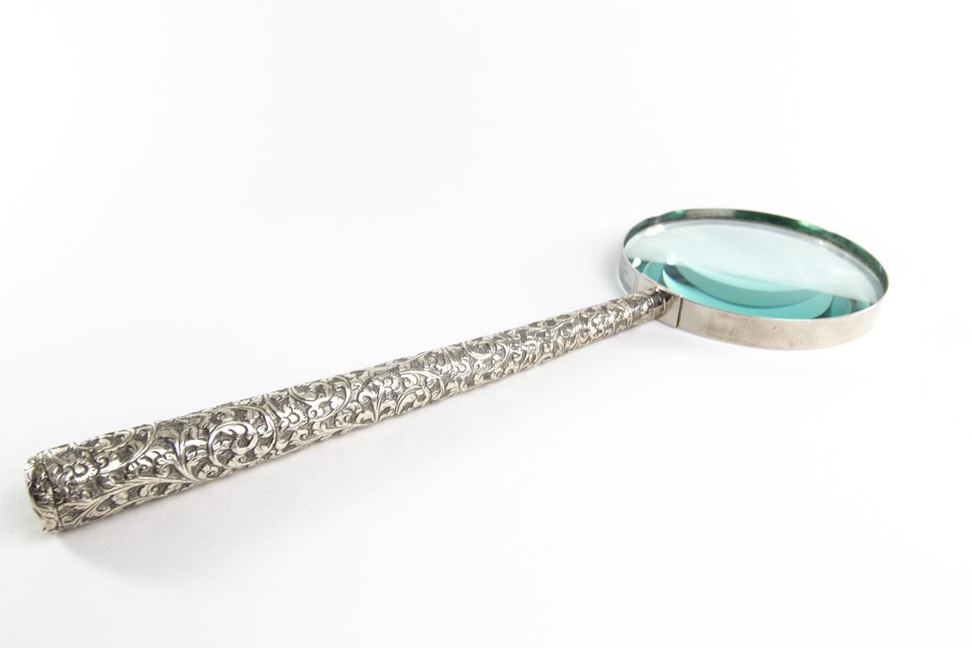 Silver long Handle