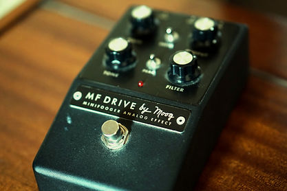 Moog MF Drive effects pedal - © Rich Bond