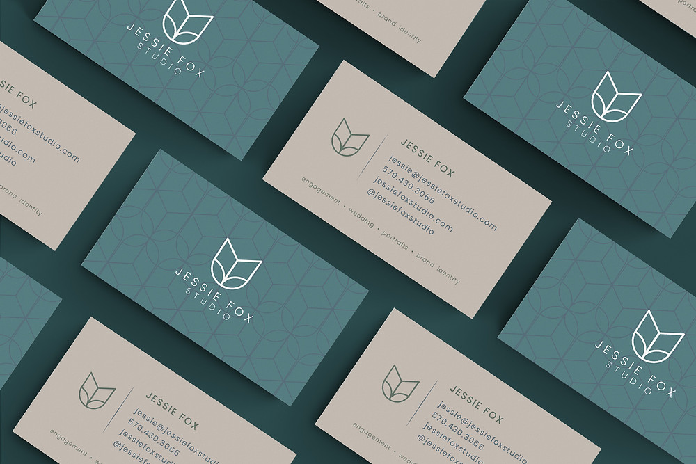 kat fox design business card design branding canon city co