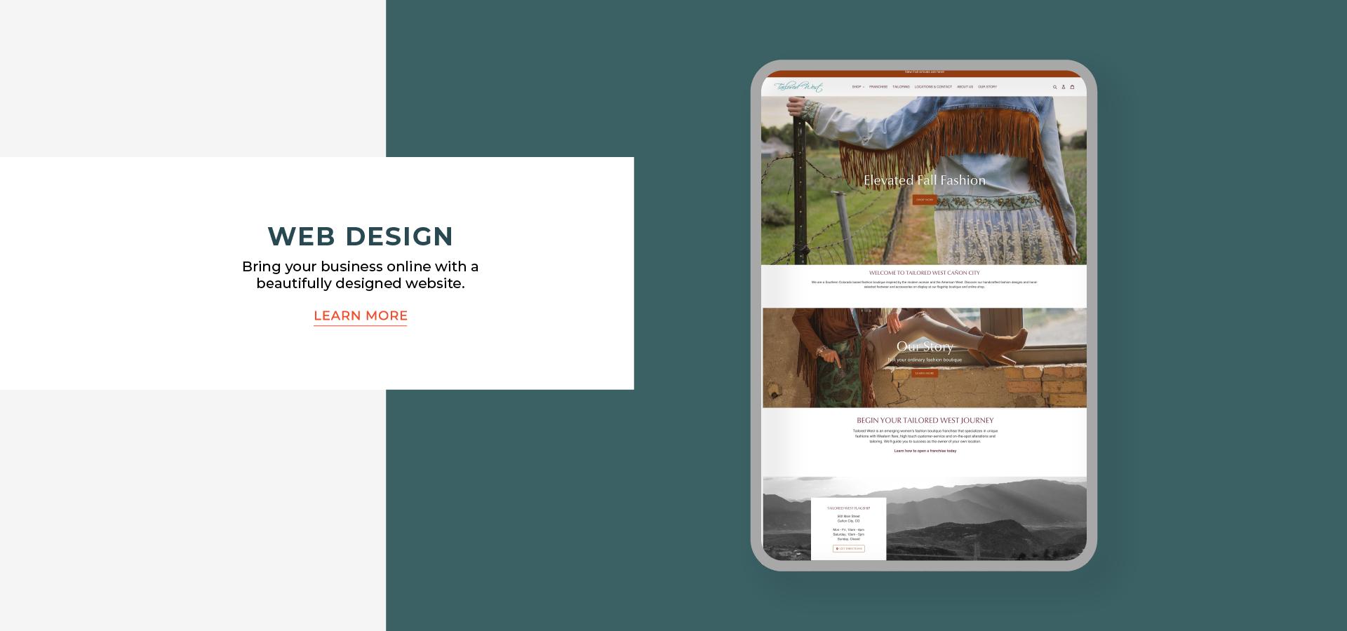kat fox design website design services