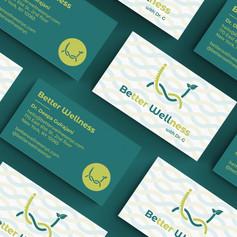 business card design canon city colorado kat fox design
