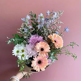 Posy Floral Arrangement Newcastle Mayfield Lake Macquarie Delivery Pastel