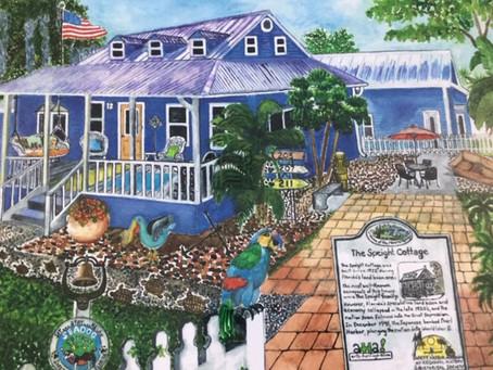 Seadog Cottages Inspires A Safety Harbor Artist.