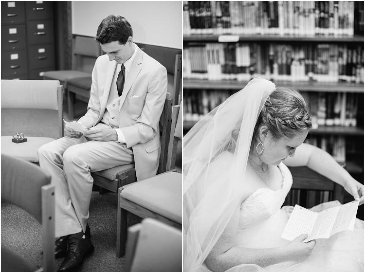 groom-reading-letter-from-bride-at-minnesota-wedding-by-milwaukee-wedding-photographer-kyra-rane-photography