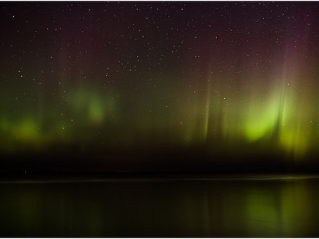 Northern Lights in the Upper Peninsula