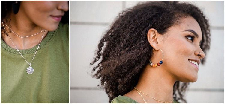 multi-colored-beads-hoop-earring-at-ethical-fashion-styled-shoot-by-milwaukee-wedding-photographer-kyra-rane-photography