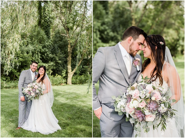 bride-and-groom-smiling-under-willow-tree-at-de-pere-wisconsin-wedding-by-green-bay-wedding-photographer-kyra-rane-photography