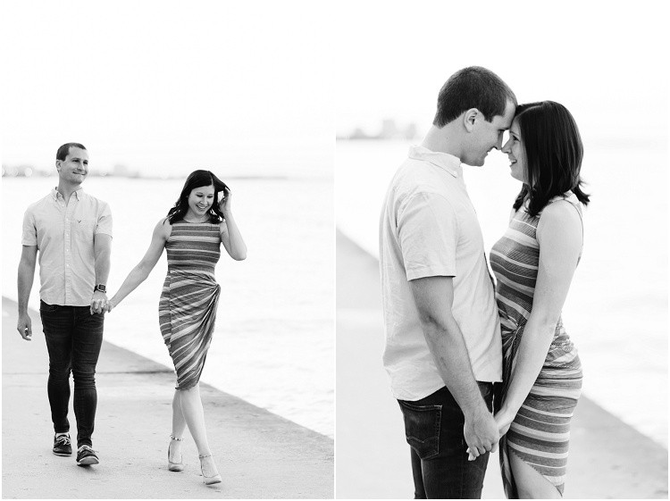 couple-walking-along-lakefront-holding-hands-at-downtown-chicago-anniversary-session-by-milwaukee-wedding-photographer-kyra-rane-photography