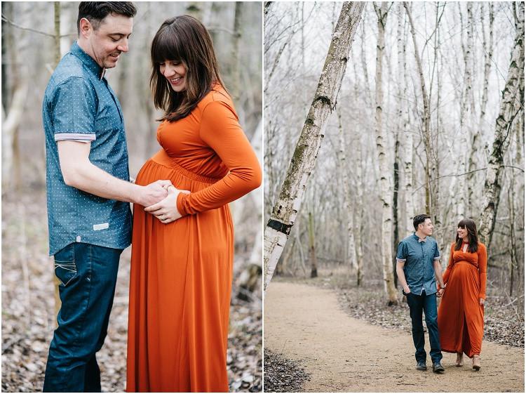 couple-expecting-walking-beneath-trees-at-menasha-maternity-session-by-green-bay-wedding-photographer-kyra-rane-photography