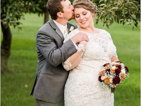 Jordan + Hailey | Lake Orchard Farm Wedding