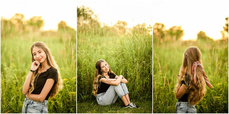 senior-standing-in-field-looking-at-sunset-at-senior-session-at-plamann-park-by-appleton-wedding-photographer-kyra-rane-photography