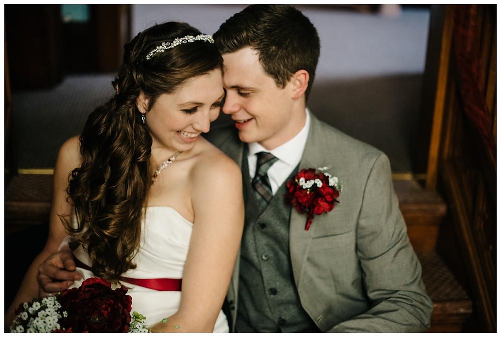 wedding-couple-sitting-on-steps-at-milwaukee-wedding-by-milwaukee-wedding-photographer-kyra-rane-photographer