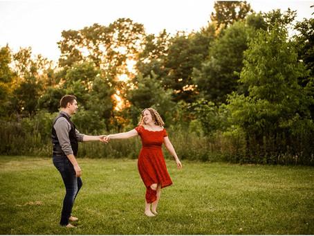 Matt + Thea | Appleton Engagement
