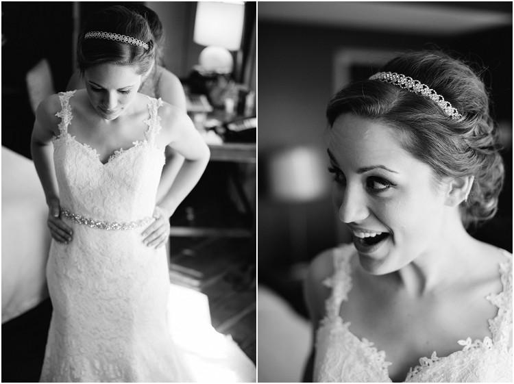 bride-getting-into-wedding-dress-at-best-western-premier-waterfront-hotel-wedding-by-green-bay-wedding-photographer-kyra-rane-photography