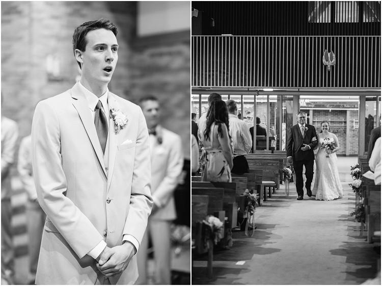 bride-walking-down-aisle-at-minnesota-wedding-by-green-bay-wedding-photographer-kyra-rane-photography