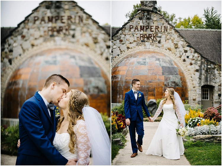 bride-and-groom-hold-each-other-and-kiss-at-pamperin-park-wedding-by-appleton-wedding-photographer-kyra-rane-photography