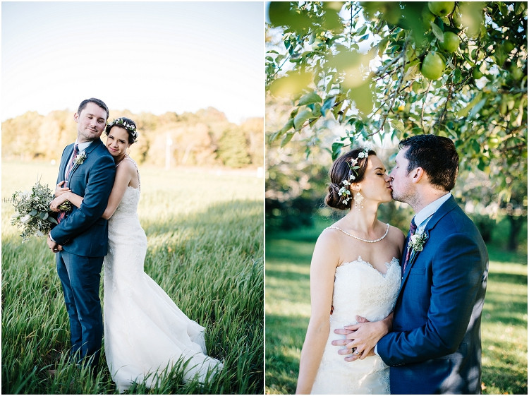 wedding-couple-kissing-under-tree-at-barnsite-retreat-and-events-wedding-by-appleton-wedding-photographer-kyra-rane-photography