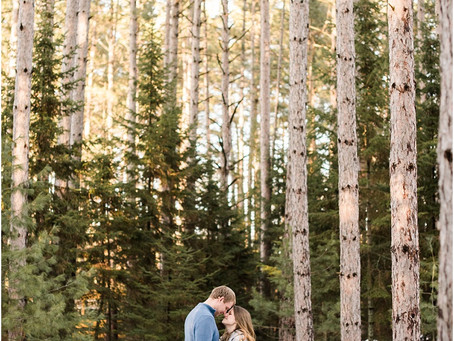 Andrew + Karly | Trees For Tomorrow Engagement Session