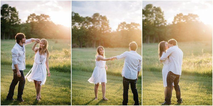 engaged-couple-dancing-at-sunset-at-homestead-meadows-styled-shoot-by-appleton-wedding-photographer-kyra-rane-photography