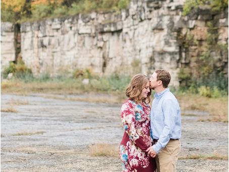Jordan + Hailey | High Cliff Engagement Session