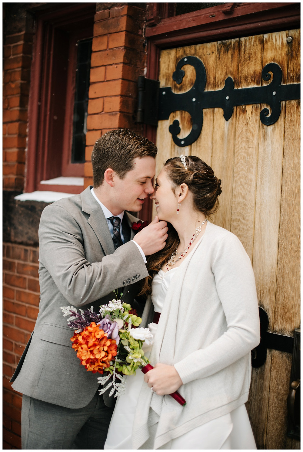wedding-couple-near-kiss-at-milwaukee-wedding-by-milwaukee-wedding-photographer-kyra-rane-photographer