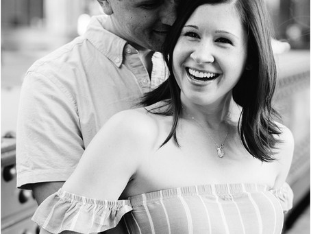 Justin + Emily | Downtown Chicago Anniversary Session