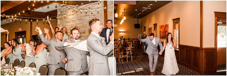 bride-and-groom-grand-entrance-at-de-pere-wisconsin-wedding-by-green-appleton-photographer-kyra-rane-photography