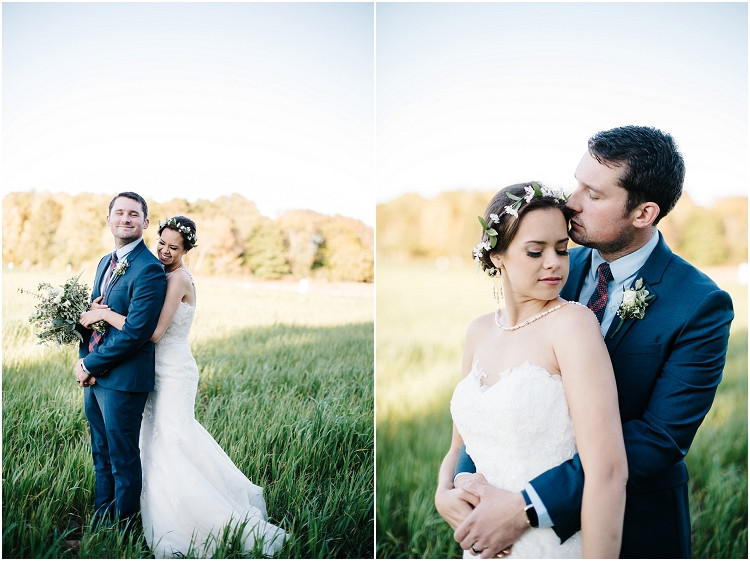 bride-hugging-groom-from-behind-laughing-at-barnsite-retreat-and-events-wedding-by-green-bay-wedding-photographer-kyra-rane-photography