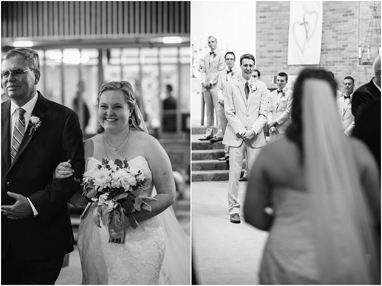 groom-crying-as-bride-walks-down-aisle-at-minnesota-wedding-by-milwaukee-wedding-photographer-kyra-rane-photography