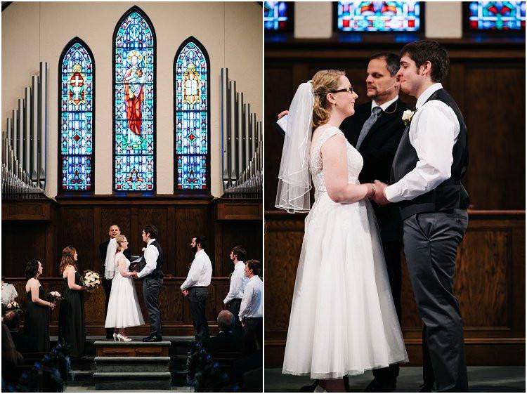 bride-and-groom-making-vows-at-sheboygan-winter-wedding-by-green-bay-wedding-photographer-kyra-rane-photography