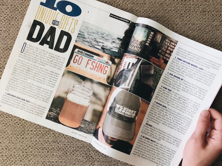Unique Gifts for Dad   Published in Women Magazine