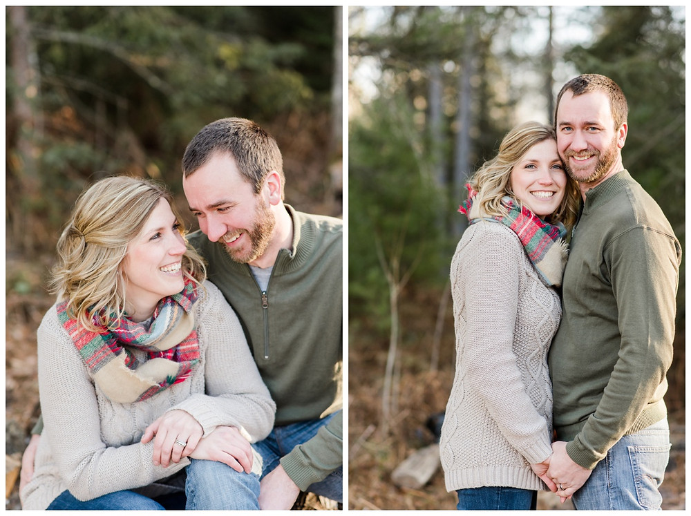 mom-and-dad-holding-hands-smiling-at-camera-at-northwoods-lifestyle-session-by-milwaukee-wedding-photographer-kyra-rane-photography