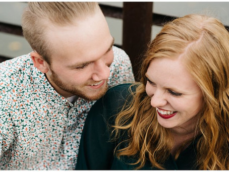 Brice + Teagan   Anniversary Session at High Cliff State Park