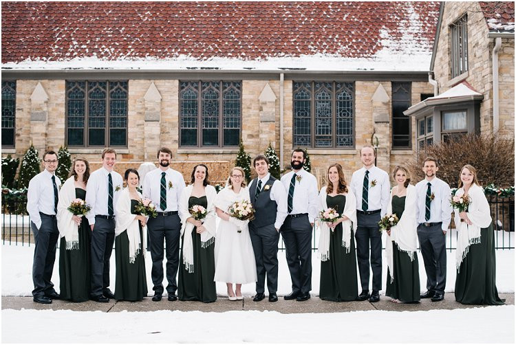 bride-and-groom-with-wedding-party-at-sheboygan-winter-wedding-by-appleton-wedding-photographer-kyra-rane-photography