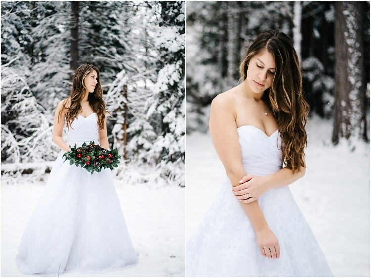 winter-bride-holding-floral-arrangement-at-wisconsin-winter-bridal-portraits-by-milwaukee-wedding-photographer-kyra-rane-photography