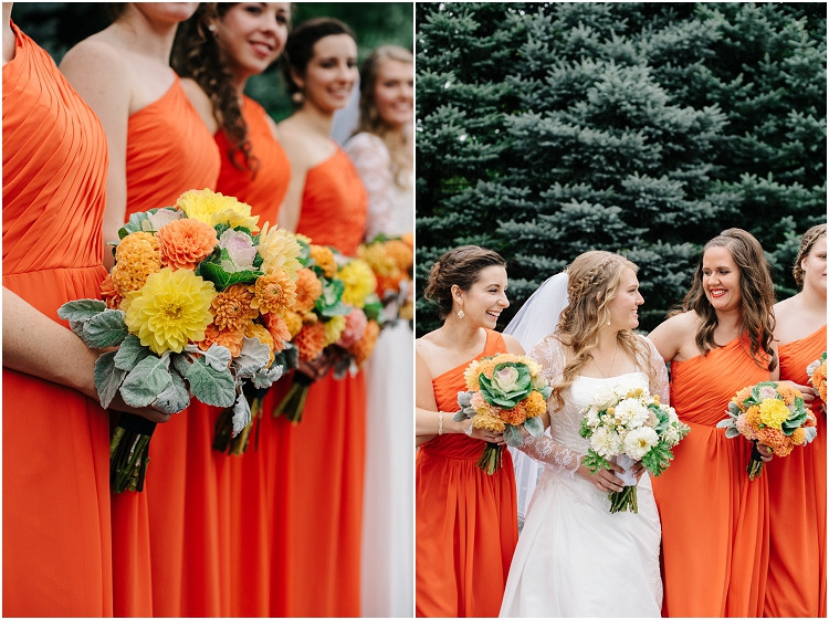 bridesmaid-floral-bouquets-at-pamperin-park-wedding-by-appleton-wedding-photographer-kyra-rane-photography