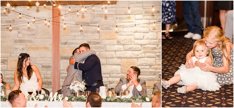groom-and best-man-toast-and-hug-at-de-pere-wisconsin-wedding-by-appleton-wedding-photographer-kyra-rane-photography