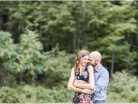 Aaron + Kristin | Green Circle Trail Engagement Session