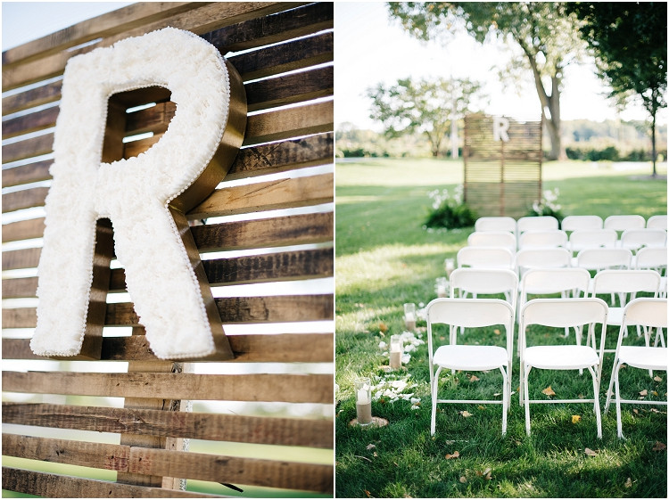 ceremony-space-at-little-chute-waterfront-wedding-by-appleton-wedding-photographer-kyra-rane-photography