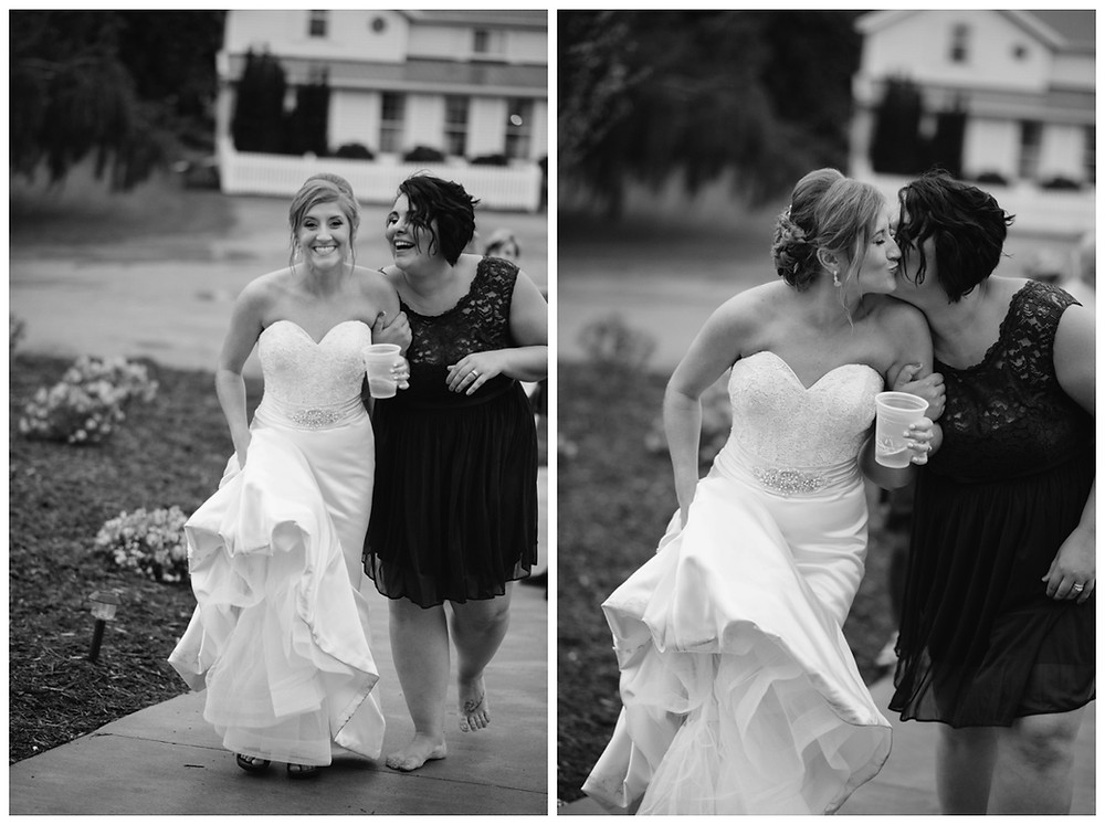 bride-and-bridesmaid-at-brighton-acres-wedding-by-milwaukee-wedding-photographer-kyra-rane-photography