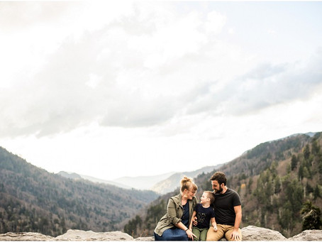Juni | Family Session in the Great Smoky Mountains