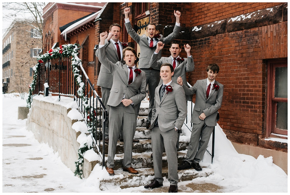 groomsmen-cheering-at-milwaukee-wedding-by-appleton-wedding-photographer-kyra-rane-photographer