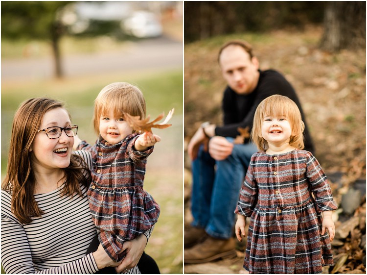 toddler-showing-leaf-at-backyard-family-session-by-milwaukee-wedding-photographer-kyra-rane-photography