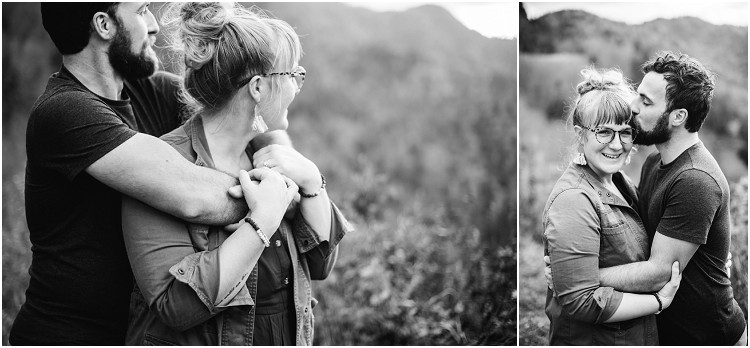 husband-kissing-wife-on-forehead-at-family-session-in-the-great-smoky-mountains-by-milwaukee-wedding-photographer-kyra-rane-photography